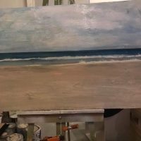 chihuahua_beach_uruguay_painting